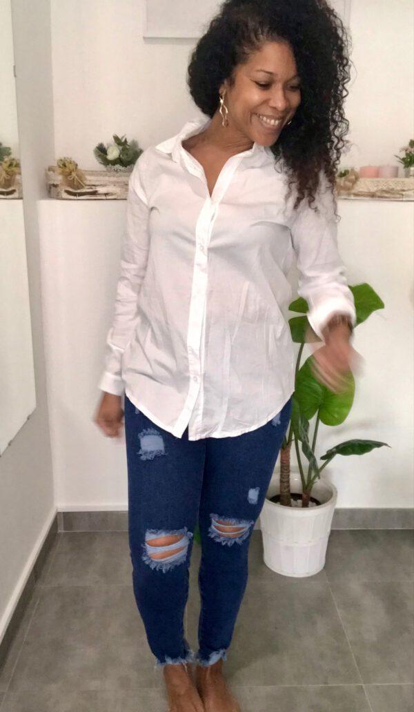 Camisa Básica Blanca 1