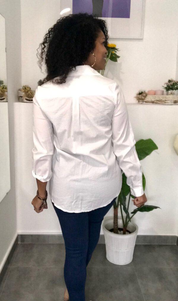Camisa Básica Blanca 3