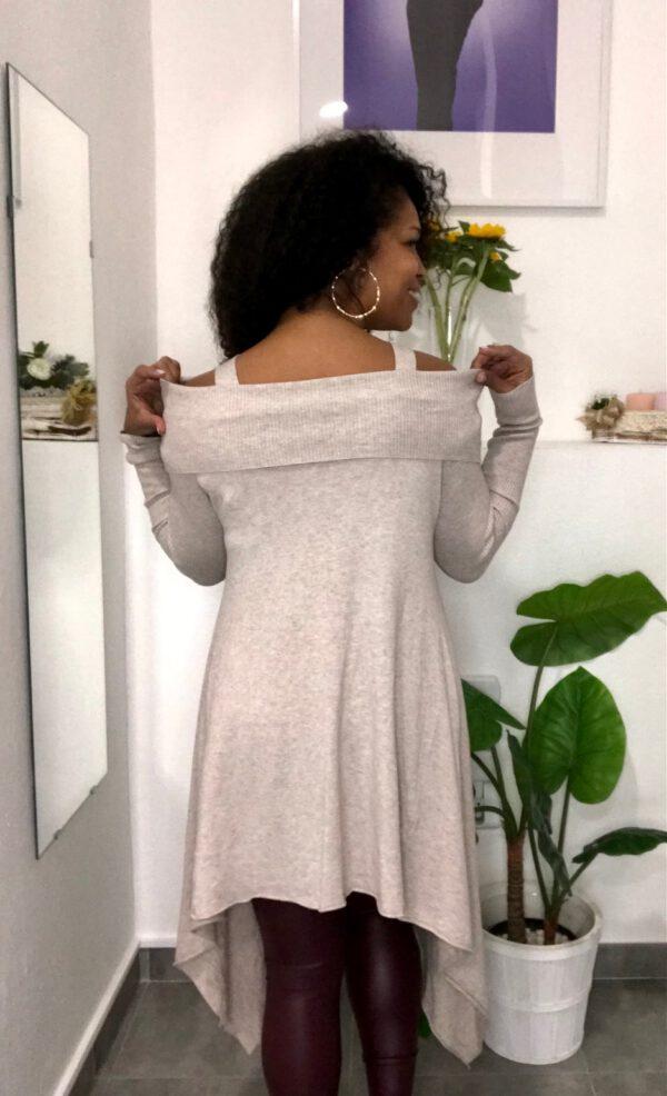 Vestido Jersey Asimétrico 3