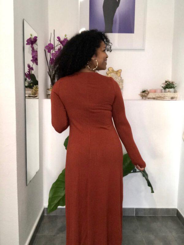 Vestido Punto Abotonado 2