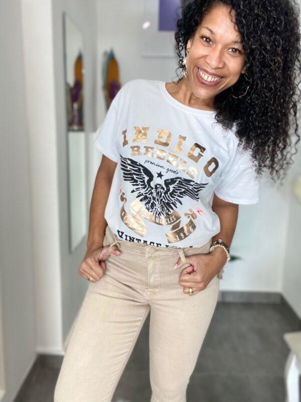 Camiseta Desteñida Águila 1