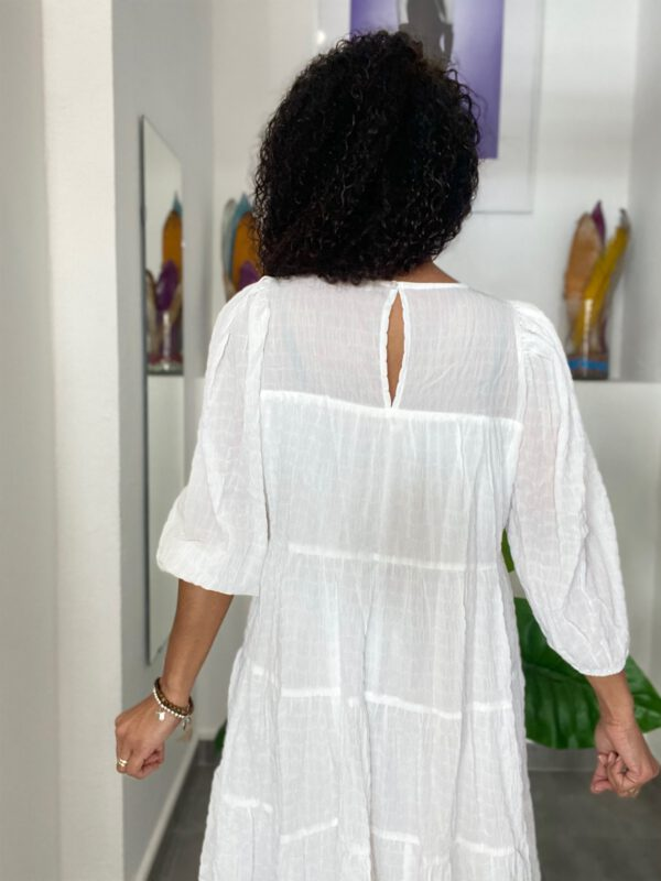 Vestido Boho Blanco 4
