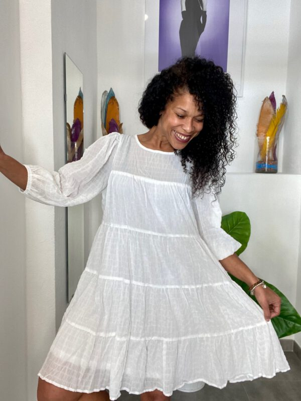 Vestido Boho Blanco 7