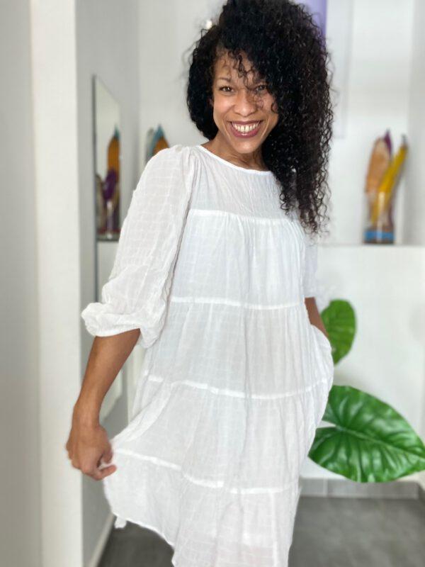 Vestido Boho Blanco 2