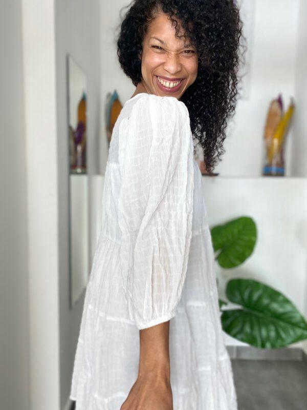 Vestido Boho Blanco 3