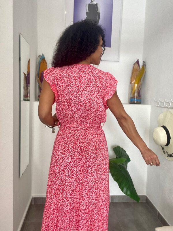 Vestido Largo Estampado 4