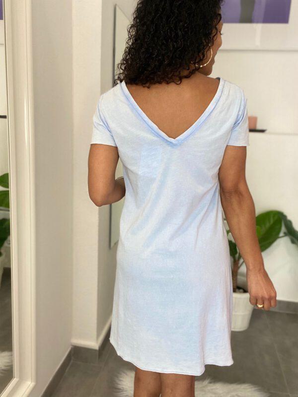 Vestido Básico Cuello V 4