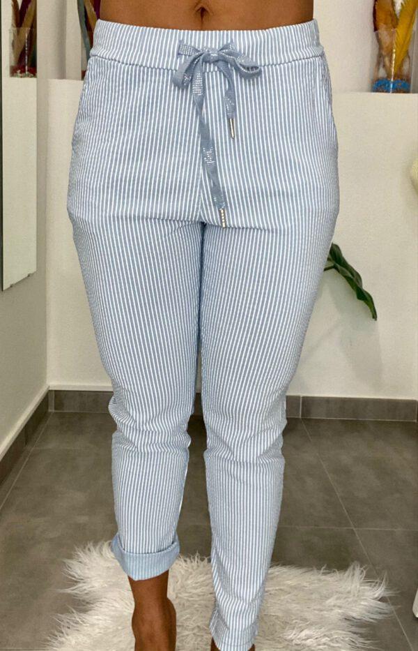Pantalón Jogger Rayas 4
