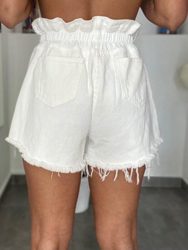 Short Vaquero Blanco 2