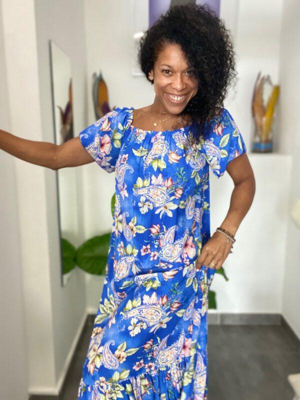 Vestido Largo Floral 7