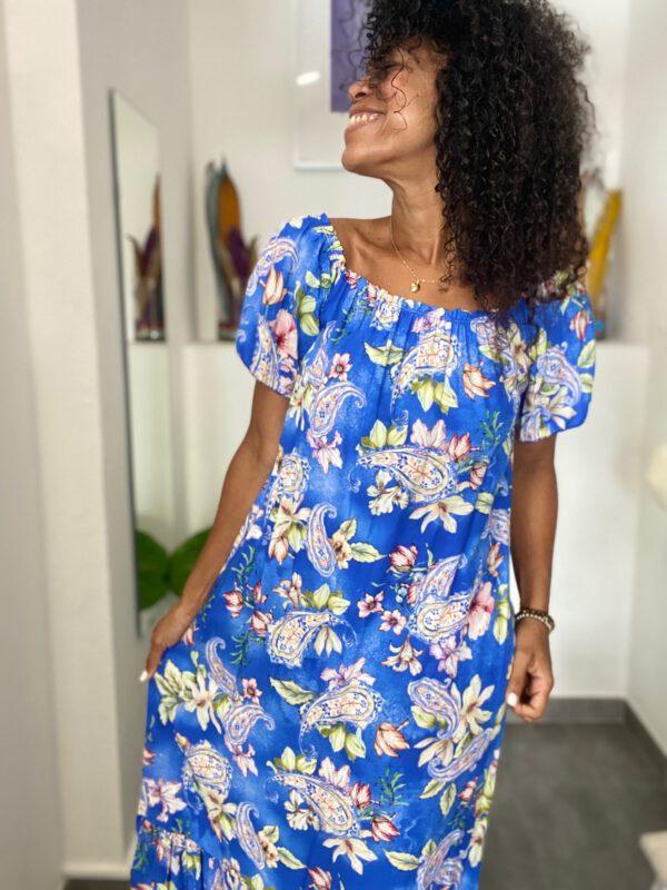 Vestido Largo Floral 6