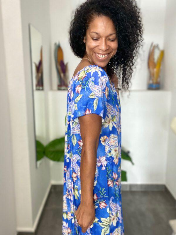 Vestido Largo Floral 5