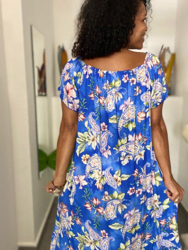 Vestido Largo Floral 4
