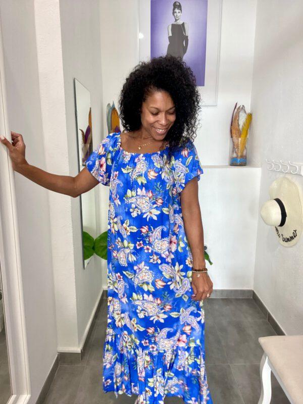 Vestido Largo Floral 1